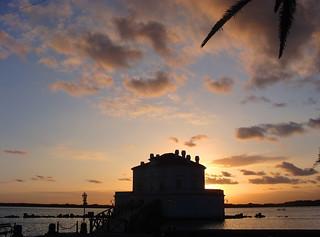 La Casina al tramonto  -  The little house at sunset