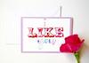 I like you handmade greeting card-5 (roisin.grace) Tags: etsy etsyshop etsyseller etsyhandmade etsyfinds greetingcards greetingcard handmade handpainted handmadecards handpaintedcards valentinesday valentines valentinescard love lovecards