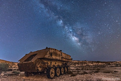 Rust in Peace (Christos Zoumides) Tags: galaxy milkyway astrophotography longexposure abandoned rust tank nikond750 outdoor perseid meteorshower sky night stars cyprus nightphotography nightscape nature landscape urbex