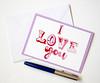 I love you handmade greeting card-9 (roisin.grace) Tags: etsy etsyshop etsyseller etsyhandmade etsyfinds greetingcards greetingcard handmade handpainted handmadecards handpaintedcards valentinesday valentines valentinescard love lovecards