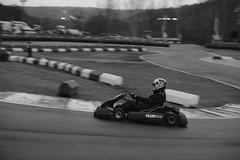 Lily in race 5 (iamWing_) Tags: acros bw bukc bukc2017 blackwhite britain buckmorepark england fuji fujifilm monochrome plymouth plymouthuniversity uk upmc unitedkingdom xpro2 xf56 championship karting race racing sport sports teammate track