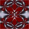 Splash (Ross Hilbert) Tags: fractalsciencekit fractalgenerator fractalsoftware fractalapplication fractalart algorithmicart generativeart computerart mathart digitalart abstractart fractal chaos art kleinian circleinversion tiling orbittrap