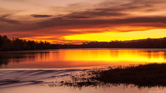 Early Morning Color (Ken Mickel) Tags: arizona avondale clouds cloudy gilariver landscape outdoors sunrise waterscape nature photography