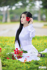 DSC_4167 (Huynhdca) Tags: portrait people woman white cute girl beautiful beauty fashion studio asian pretty young dai ao