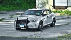 2014 Ford Police Interceptor Sedan (Michael Zapatka Photography) Tags: ford sedan silver grey metallic police motorola taurus interceptor 2014 setina