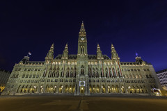 The Rathaus (Town Hall) is a building in Vienna which serves as the seat both of the mayor and city council of the city of Vienna, Austria