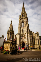 A Wedding At The Church Of Falkland, Scotland