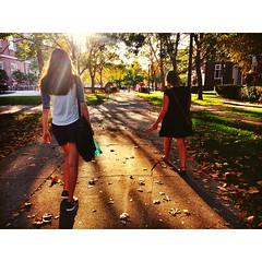 University of Illinois (baumabby) Tags: friends sun college campus illinois spring walk sunny quad universityofillinois urbana champaign urbanaillinois champaignillinois