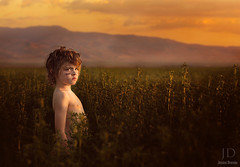 Lord of the Flies ({jessica drossin}) Tags: light boy sunset portrait mountain face field clouds photography kid intense war paint child natural jessicadrossin wwwjessicadrossincom jdbeautifulworldcollection