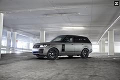 Land Rover Vogue / Zito ZS01 (ZitoWheels) Tags: grey rover vogue land range matte zito zs01