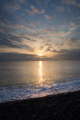 Sunrise () Tags: travel sea sun beach sunshine sunrise landscape dawn spring taiwan olympus  sunrays   hualien   tw   clound daybreak     m43  ep5  chihsingtanbeach