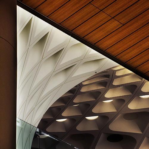 Mumbai International airport T2  #peacock #architecture