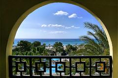 Tunesien / Tunisia ... (LL) Tags: hotel tunisia urlaub palace dreamlike paradis tunesien meerblick illbeback traumhaft vombalkon assoonaspossible illcomeback tunesienbrauchtdieurlauber sodringend