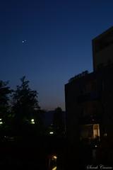 Splende in eterno-Ghemon (Sarah Canino) Tags: light sky june stars lights star 1 kiss venus view like july il jupiter favourite giugno 31 comment bacio venere luglio giove 2015