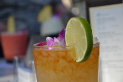 Halekulani Mai Tai (Simon_sees) Tags: travel vacation holiday hawaii drink beverage cocktail alcohol honolulu maitai halekulani