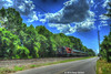 METRO-NORTH--127 along Oronoque Road OB (milantram) Tags: trains commuterrail metronorth passengertrains bl20gh