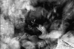 Withdrawals x Ransom Ashley (ransomashley) Tags: white abstract black art film monochrome composite youth analog vintage dark photography sadness exposure darkness smoke ashley fine teenagers double retro smoking cigarettes cinematic addiction narrative ransom withdrawals