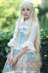 FOX26510-Edit (FoxSchumacher) Tags: china portrait people girl canon lolita kunming ef85mmf12lusm 1dmarkiv 樁姬