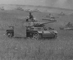 Panzer iiis, Tiger Is, and Panzer ivs, Kursk, 1943