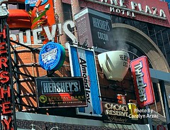 It's All Hershey's! (Carolyn Arzac) Tags: canon t3i newyork hersheys chocolate flickr photos red