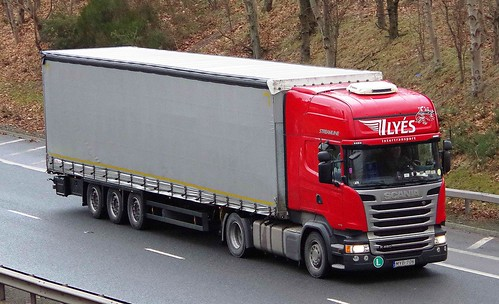 SCANIA R450 - ILYES Intertransport Hajdunanas Hungary