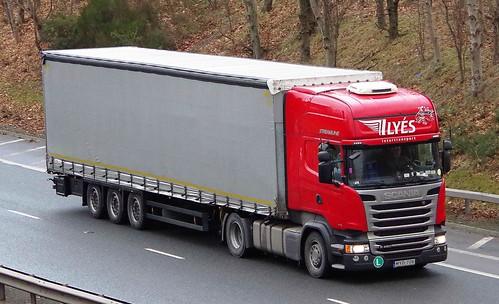 SCANIA R450 - ILYES Intertransport Hajdunanas Hungary