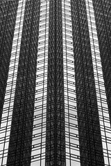 Trump Tower (melmark44) Tags: reflections trumptower newyorkcity nyc bw blackandwhite whitehouse presidentelect building architecture converginglines geometric composition artistic impressionistic abstract highcontrast newyork eastside fifthavenue landmark icon skyscraper
