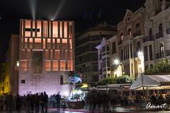 Plaza Cardenal Belluga (amart1976) Tags: murcia nikond5200 spain buildings night longexposure streetphotography
