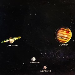 The Outer Planets (Pennan_Brae) Tags: stargazing stargaze vintagemap map neptune uranus saturn jupiter outerspace space astronomy planets solarsystem
