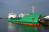 'Arklow Rogue' Weston Point salt works 1st October 2010 (John Eyres) Tags: arklow rogue loading weston point salt works manchester ship canal 011010