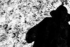 The man in the hat (John fae Fife) Tags: fujifilmx noiretblanc xe2 monochrome blackandwhite shadow nb bw luxembourg