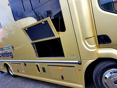 Large underfloor storage with soundproofing, heat insulation, LED lights and luggage tie points. #KPHLTD #HorseHour #Equihour #EquineHour #horseboxes #horse (Kevin Parker Horseboxes) Tags: horseboxes equihour horsehour kphltd horse equinehour