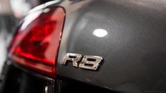 Audi R8 (Jannik K) Tags: audi r8 essen motorshow luxuscar luxus car cars auto autos red rot rücklicht backlight detail details grey grau sportwagen sport sports sportscar racing depth focus samsung nx1