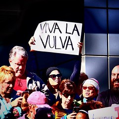 Viva la Vulva #WomensMarch #Vegas (Desautomatas) Tags: instagram desautomatas foto photo viva la vulva womensmarch vegas