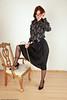 Miss James (alex.silk) Tags: headmistress blouse schoolmistress strict teacher bow