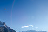 Mont Blanc (キャロリン) Tags: chamonix montblanc aiguilledumidi nikon d7000 1116mm tokina winter france plane sky gare alpes mountains