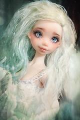 Loving the mermaid filter~ 💕✨ Momoni Petal skin with new faceup and eyes ☺👍 #doll #dolls #bjd #artistdoll #momoni #ateliermomoni (Lola · Atelier Momoni +) Tags: doll dolls bjd artistdoll momoni ateliermomoni