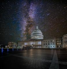 US Capital Fall Milky Way (Jerry T Patterson) Tags: uscapital capitals wdc washingtondc monuments memorials milkyway astrophotography longexposure tour phototour workshop