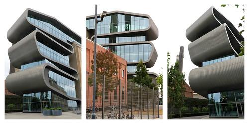Immeuble Umicore Hoboken, Adolf Greinerstraat, Antwerpen (Anvers) Belgium