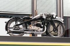Vintage racer (quinet) Tags: 2016 antik berlin germany motofahrrad ancien antique moto motorcycle