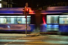 Munich - Tram (cnmark) Tags: germany munich münchen deutschland bayern bavaria schwerereiterstrase tram strasenbahn barbarastrase moving motion action night nacht nachtaufnahme noche nuit notte noite ©allrightsreserved