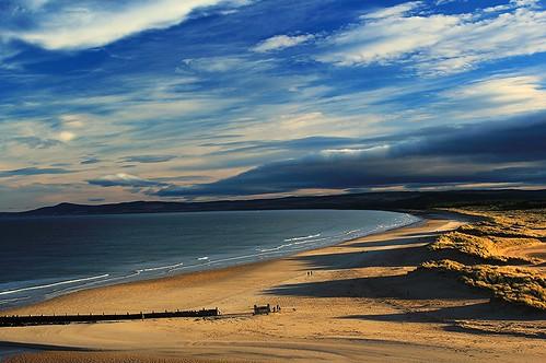 Lossie West beach.