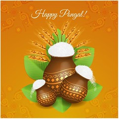 free vector Happy Pongal celebrations Traditional mud pot with rice (cgvector) Tags: agriculture asian banana banner card celebration coconut colorful creative culture decoration ethnic farmer festival floral food fruit grain greeting happy harvest health hindu holiday india indian leaf makar mango mud nadu pongal poster pot prosperity rangoli red religious rice sankranti shiny south sugarcane sun sweet tamil thankful traditional vacation flower illustration tradition vector wheat