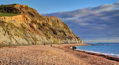The coast at Seatown, Dorset (Baz Richardson (catching up again!)) Tags: dorset seatown jurassiccoast cliffs beaches ridgecliffseatown coast isleofportland