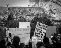 2017.01.29 Oppose Betsy DeVos Protest, Washington, DC USA 00245