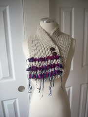 DSCN0260 (The Anatolian Style) Tags: hand knitted collar neck warmer scarf beige