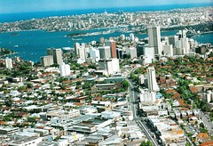 An aerial view of Crows Nest and North Sydney, NSW (davemail66) Tags: crowsnest northsydney nsw