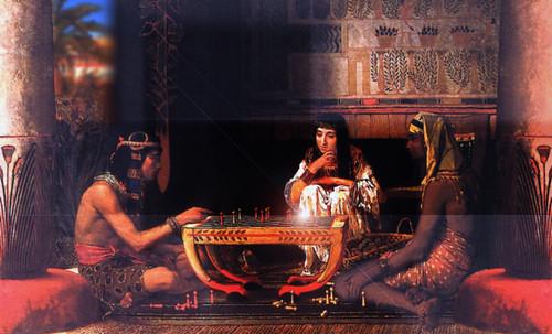 "Senet - Lujoso sistema de objetos lúdicos obsequio del dios Toht a la faraona Nefertari • <a style=""font-size:0.8em;"" href=""http://www.flickr.com/photos/30735181@N00/32399619301/"" target=""_blank"">View on Flickr</a>"