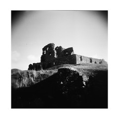 Auchindoun (brownie camera guy) Tags: auchindoun scotland holga120n ruins castle