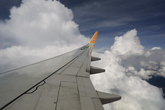 Nok Air (772A5908) (Passenger32A) Tags: travel sky window clouds plane airplane thailand flying asia southeastasia view aircraft seat flight wing boeing winglet nokair b737800